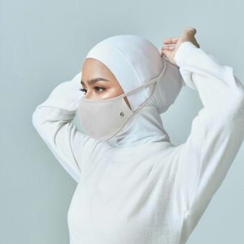 AZ Mask Single Tie-On Strap Ivory
