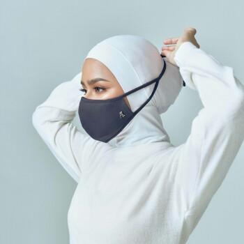 AZ Mask Single Tie-On Strap Ash