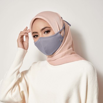 AZ Mask Single Tie-On Strap Smoke