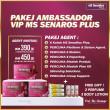 AGENT (6 KOTAK FREE GIFT 3 PERFUME & 3 BODY LOTION) - SEMENANJUNG - MS SENAROS PLUS