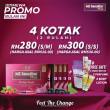 4KOTAK ~ 2BULAN (FREE GIFT 2 SHAKER, 2 PERFUME & 2 LOTION) - MS SENAROS PLUS