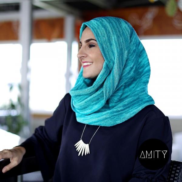 Amity Scarf Twist Mango - AMITY