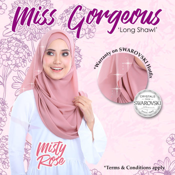 Miss Gorgeous in Misty Rose
