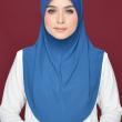 Aafiah (M) in Solid Blue - MatBunga Exclusive