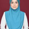 Aafiah (L) in Blue Thunder  - MatBunga Exclusive