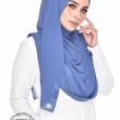 Jasmeen Crystal Swarovski in Dusty Blue - MatBunga Exclusive
