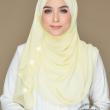 Aurora Swarovski Crystal in Lemon Frost - MatBunga Exclusive
