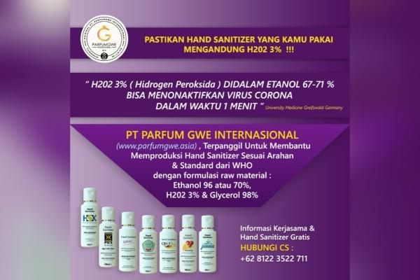 Hand Sanitizer - TOKOAMAL.ASIA