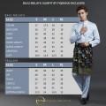 Baju Melayu Slimfit Navy Blue - Fiqrana Exclusive
