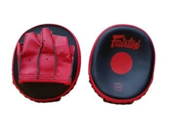 FAIRTEX FMV15 SPEED FOCUS MITTS - BLACK/RED