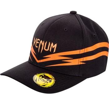VENUM SHARP 2.0 HAT - BLACK/ORANGE