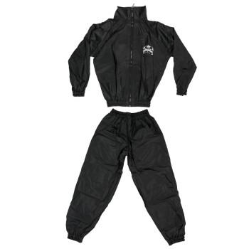 Top King Vinyl Sauna Suit - Black