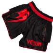 VENUM GIANT MUAY THAI SHORTS - BLACK/RED - Potosan Corner Proshop