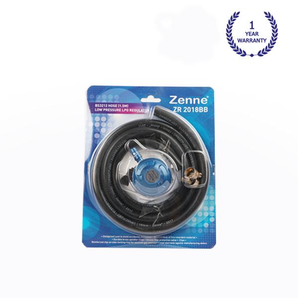 Regulator + Hose + Hose Clip (ZR-2018BB) - Zenne Malaysia