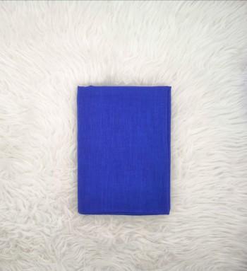 Comfy Cotton Shawl in Royal Blue
