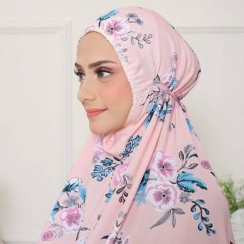 Telekung Delayla Premium Petunia Pink