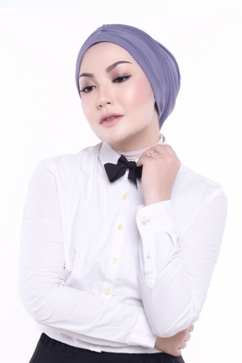 MEKNIS THE LABEL - Basic Turban - Grey