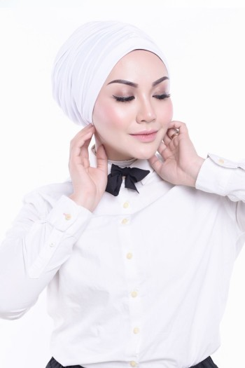 MEKNIS THE LABEL - Basic Turban - White