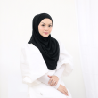 MEKNIS THE LABEL - Sonyeo Instant Hijab - Black - MEKNIS