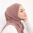 MEKNIS THE LABEL - Sonyeo Instant Hijab - Dusty Brown - MEKNIS