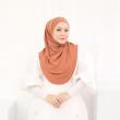 MEKNIS THE LABEL - Sonyeo Instant Hijab - Sand Brown - MEKNIS