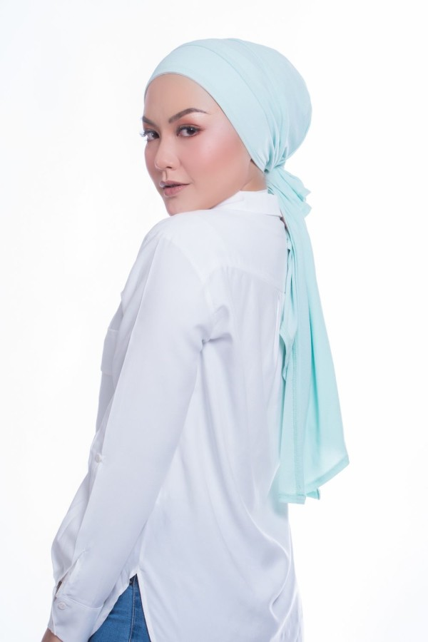 MEKNIS THE LABEL - Femme Turban - Mint Green - MEKNIS