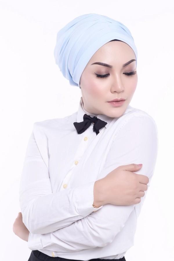 MEKNIS THE LABEL - Basic Turban - Blue - MEKNIS