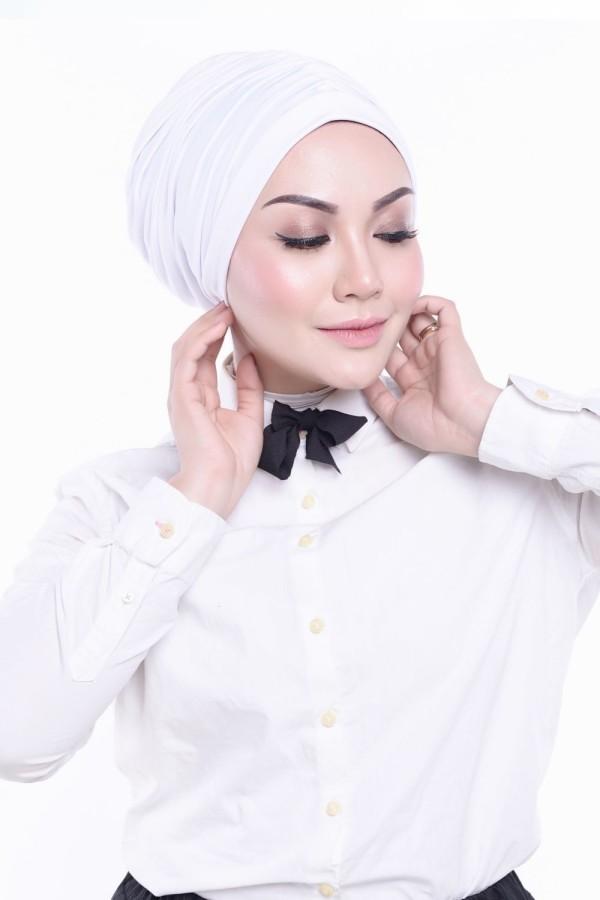 MEKNIS THE LABEL - Basic Turban - White - MEKNIS