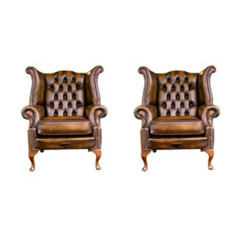 ROYAL CHESTERFIELD WING CHAIR
