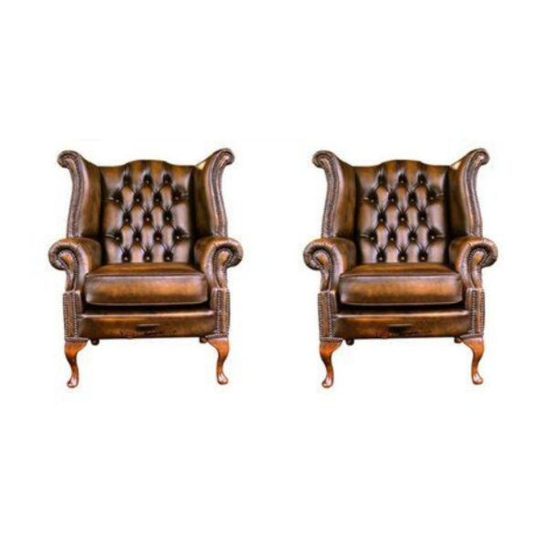 ROYAL CHESTERFIELD WING CHAIR - HORESTCO FURNITURE