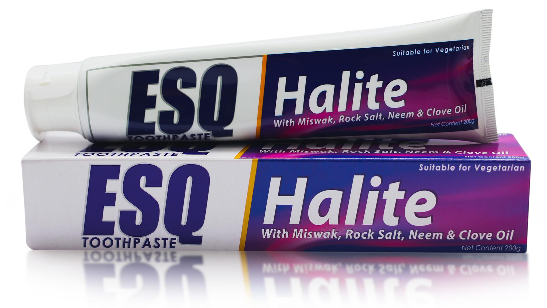 ESQ Herbal Toothpaste Halite