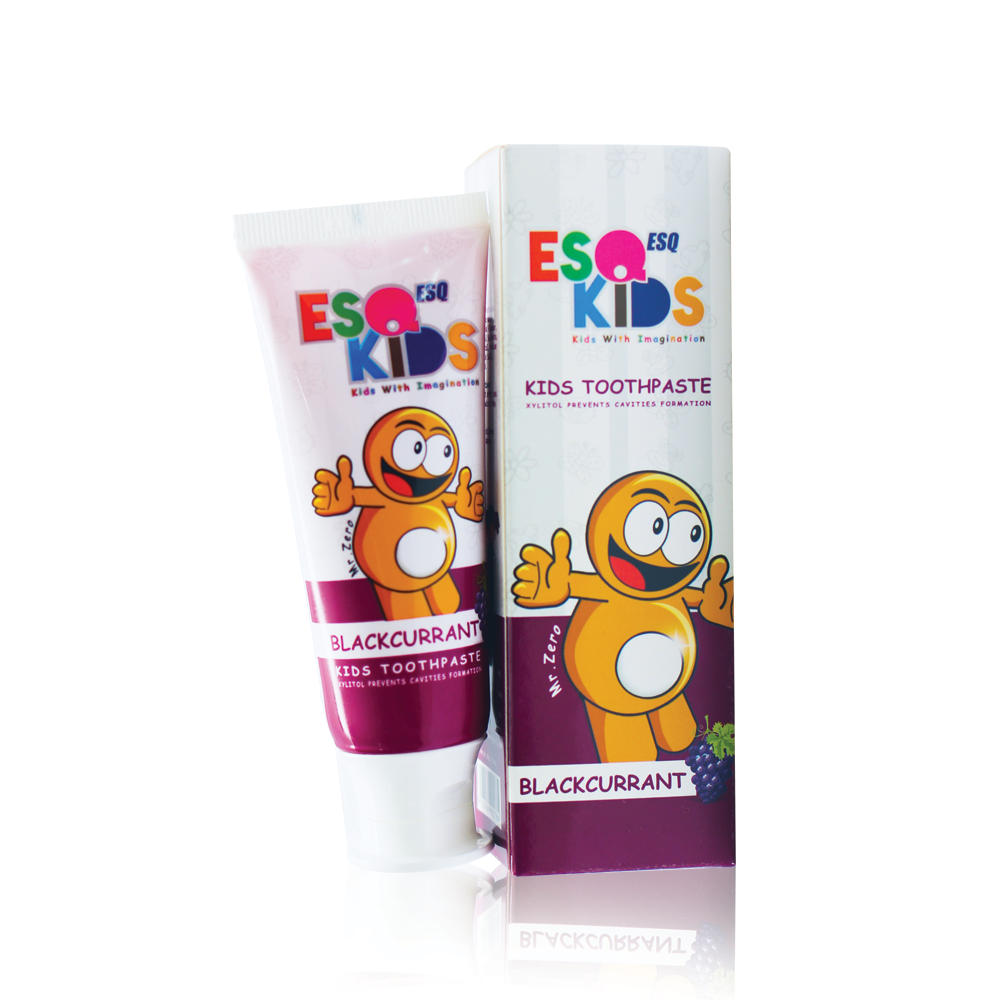 ESQ Kids Toothpaste Blackcurrant