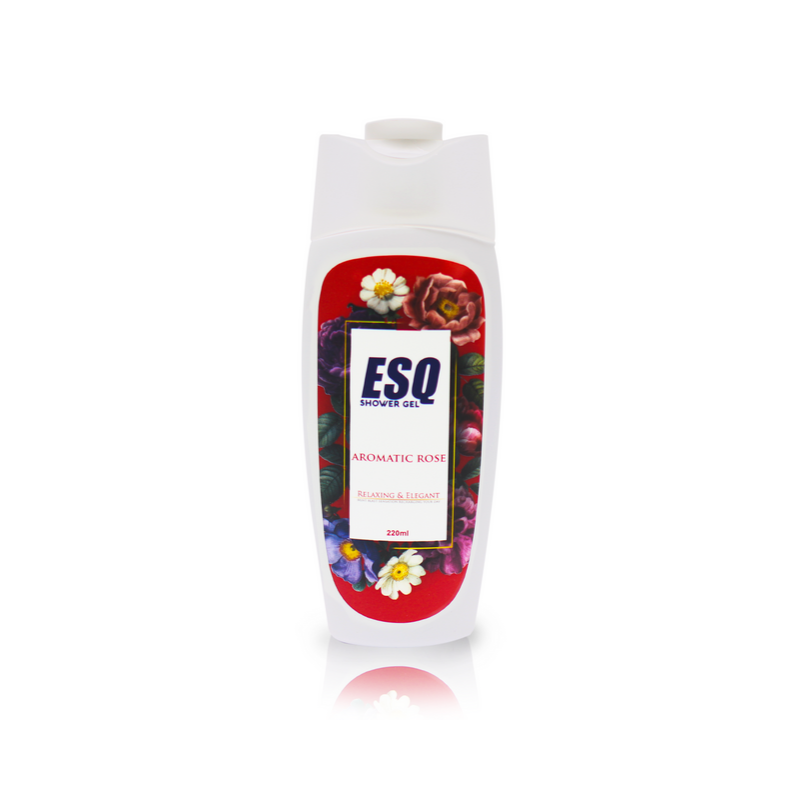 ESQ Shower Gel - Aromatic Rose