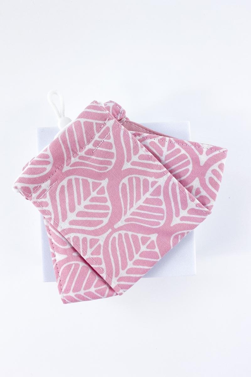 Batek Cotton Face Mask (Pink)