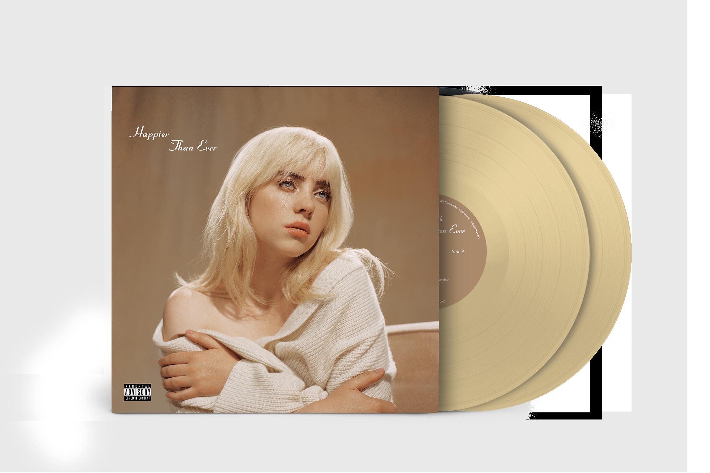 'Happier Than Ever' Exclusive Golden Yellow Vinyl