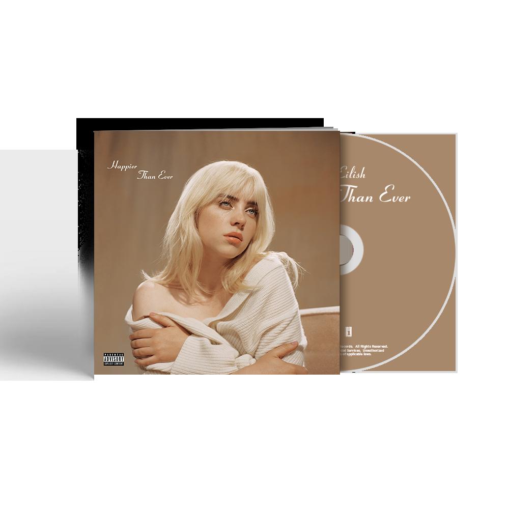'Happier Than Ever' CD Photobook