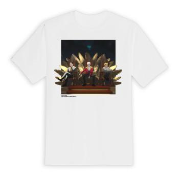 Tak Sangka White Oversized T-Shirt