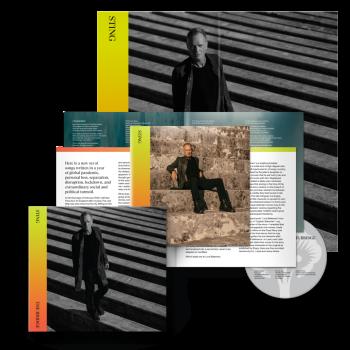 "Sting ""The Bridge"" International Deluxe CD"