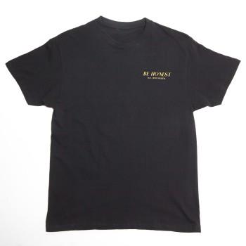 Be Honest Black Short Sleeve T-Shirt