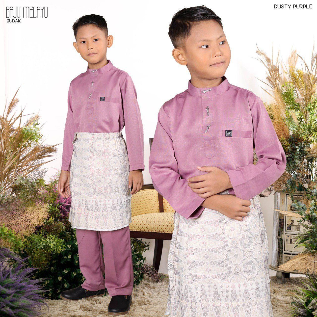 Melayu Kids In Dusty Purple