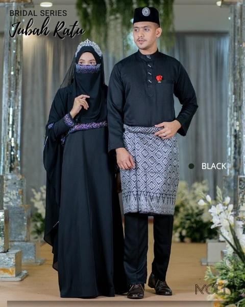 Ratu Arab In Black