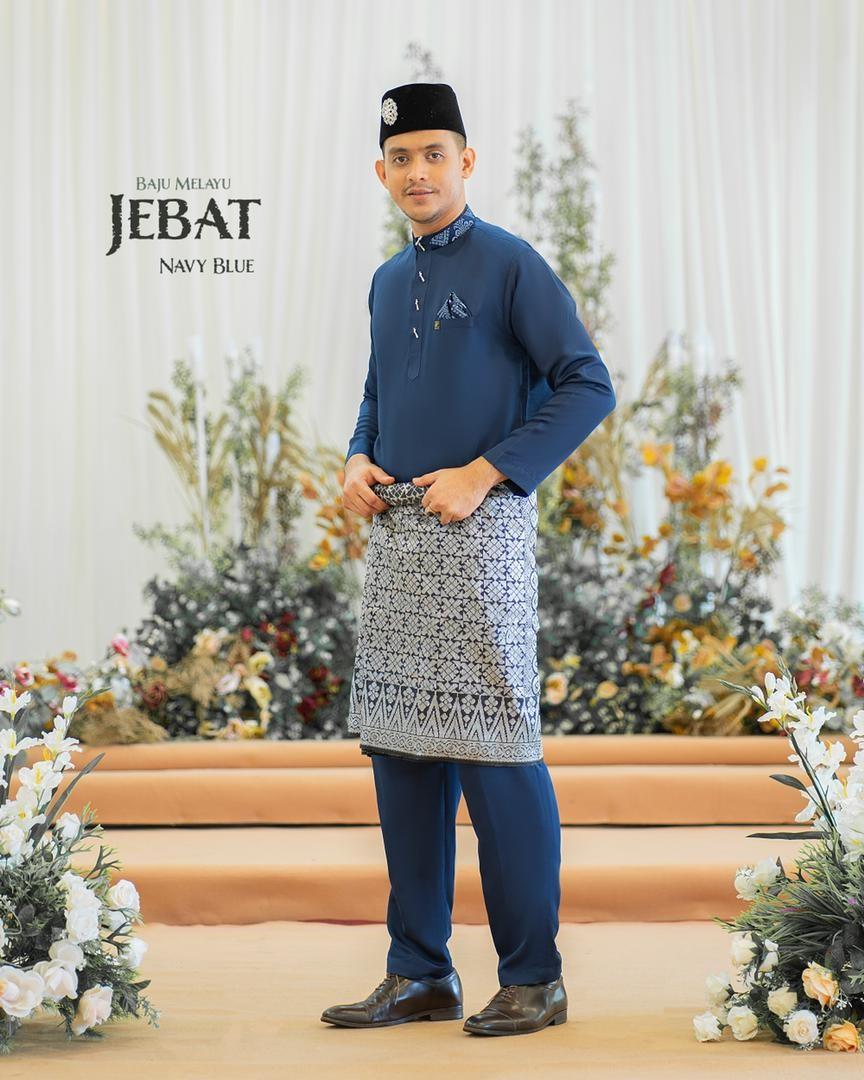Melayu Jebat In Navy Blue
