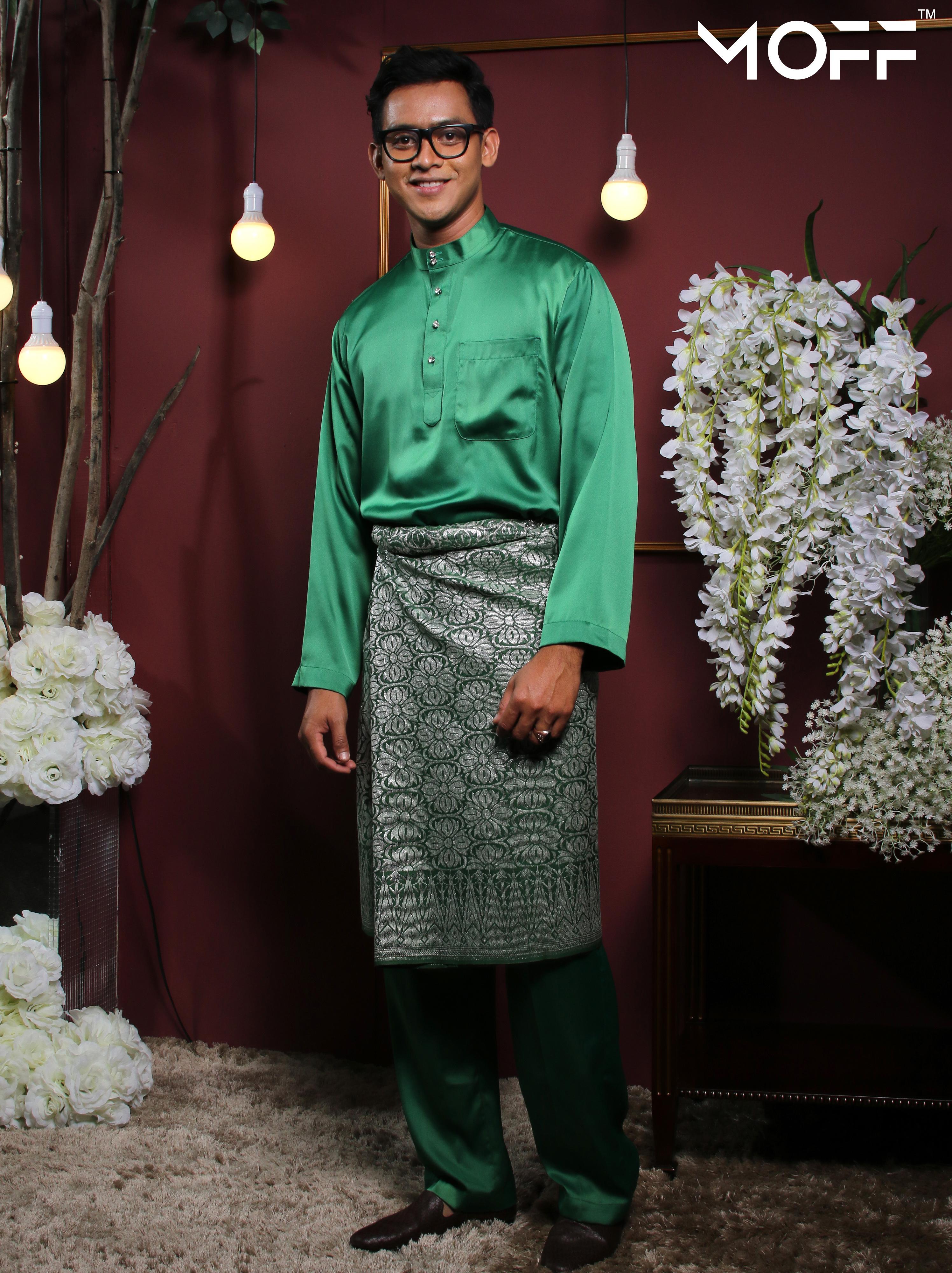 MOFF Crystal Silk Moden In Green