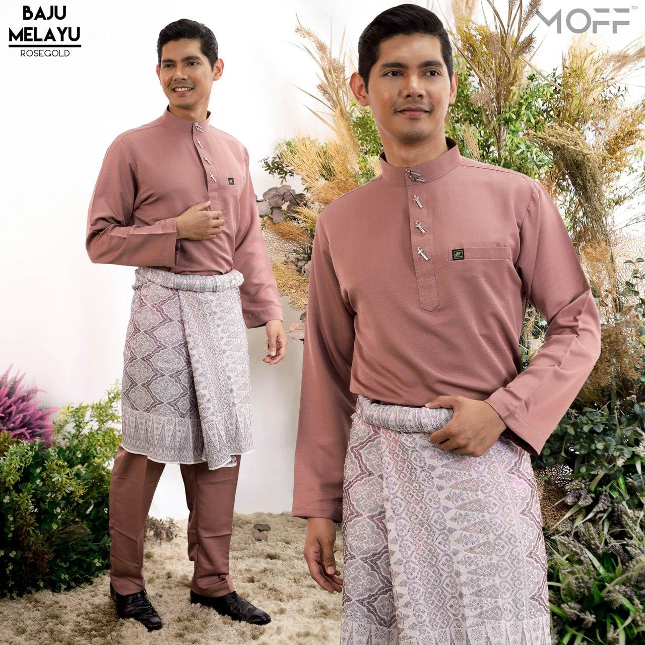 Melayu Moden In Rosegold