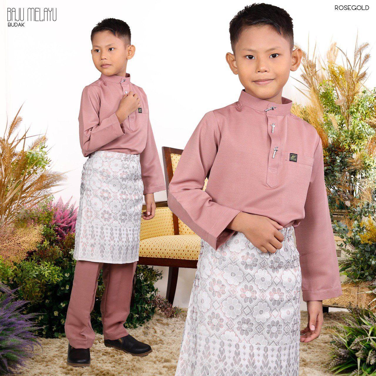 Melayu Kids In Rosegold