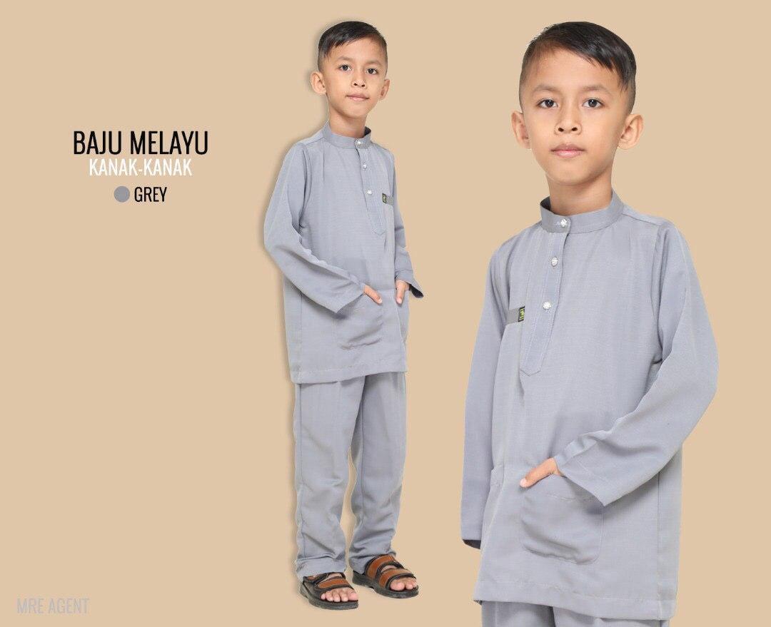 Melayu Kids In Grey