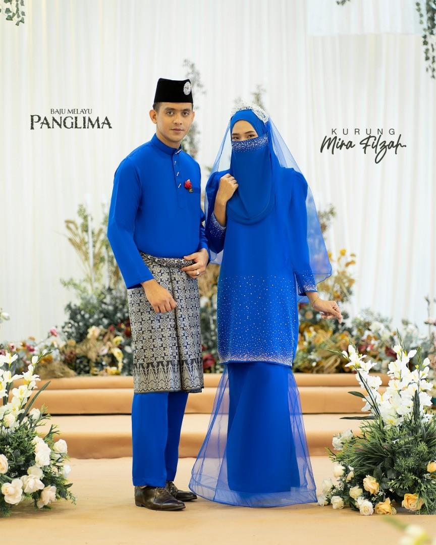 Mira Filzah In Royal Blue