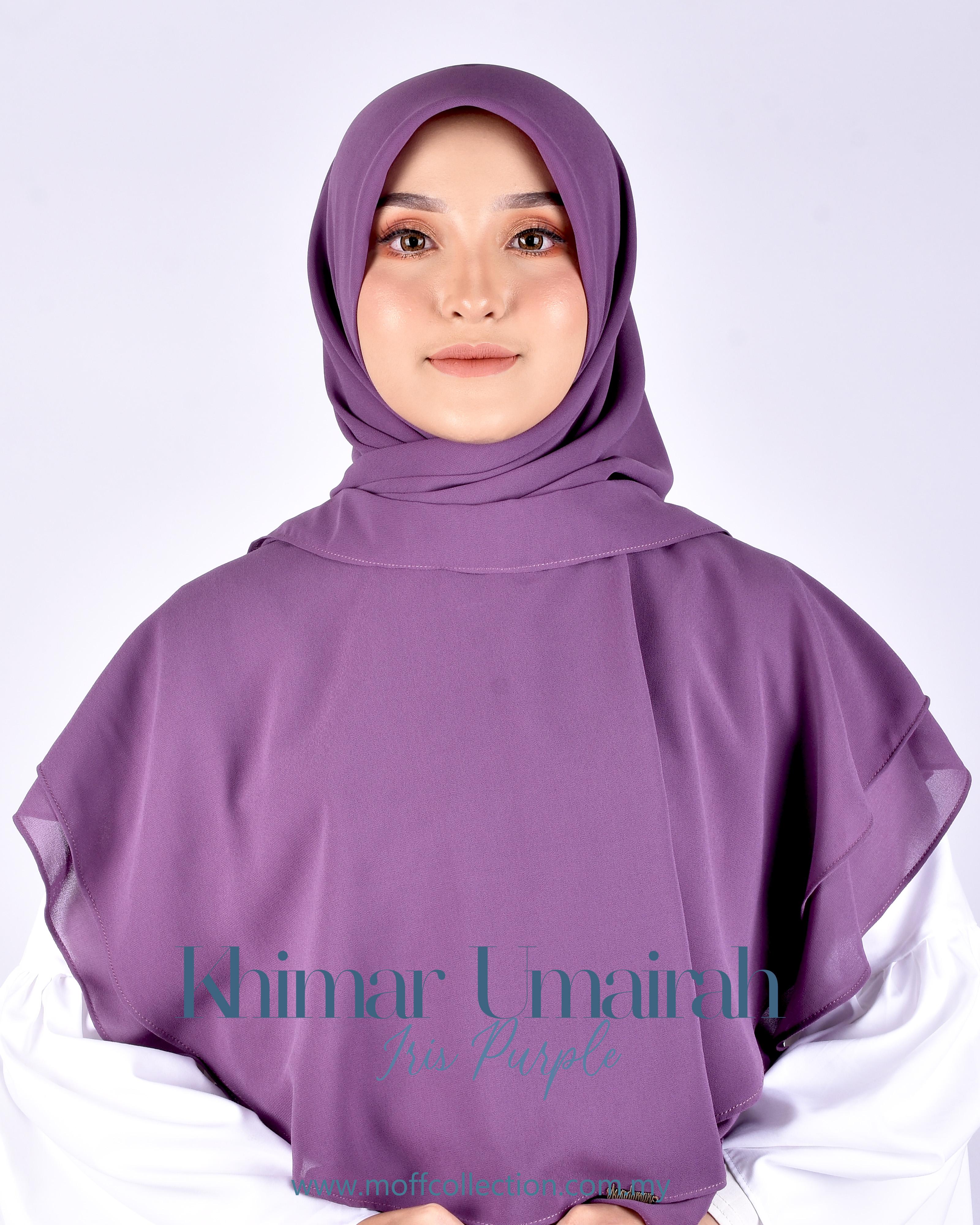Khimar Umairah In Iris Purple