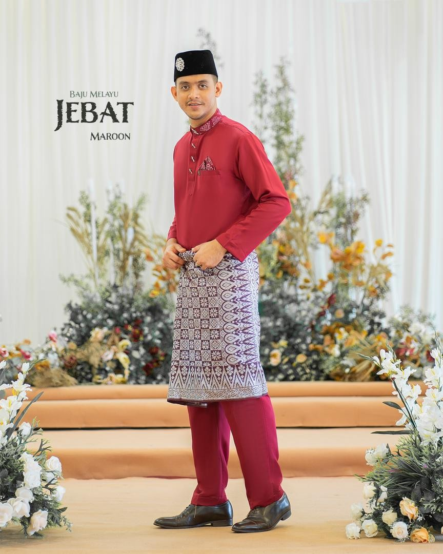 Melayu Jebat In Maroon