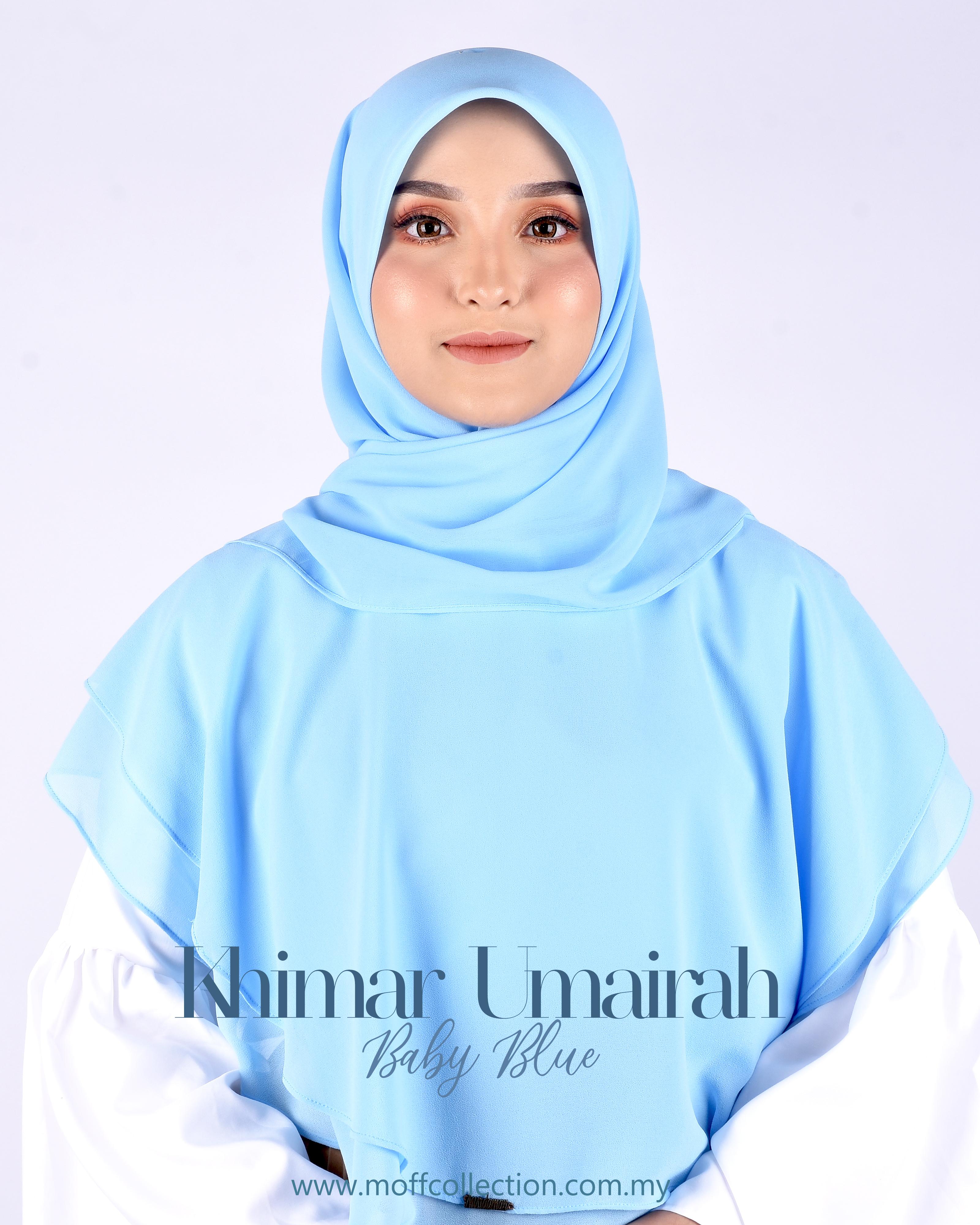 Khimar Umairah In Baby Blue